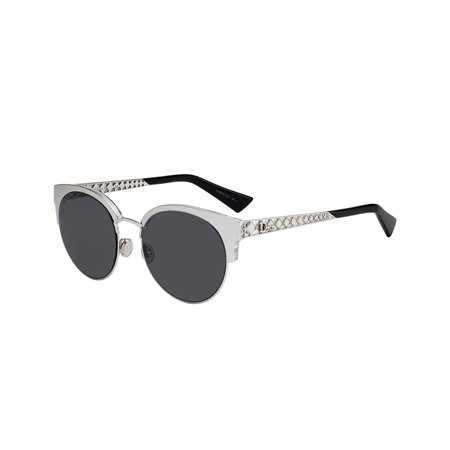 Christian Dior DIORAMA MINI Women Sunglasses Silver NEW AUTHENTIC (Smartknit Seamless Silver Mini)