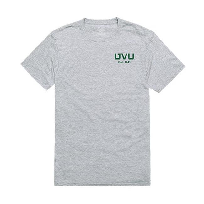 W Republic Apparel 528-210-HGY-04 Utah Valley University Practice Tee Shirt - Heather Gray, Extra Large - image 1 of 1