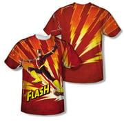 Jla - Lightning Fast - Short Sleeve Shirt - Small