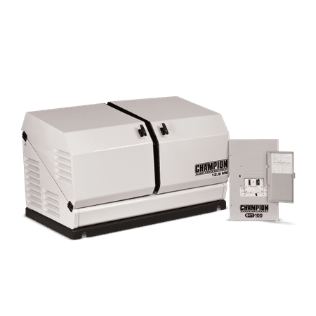 Champion 12 5 kW Home Standby Generator with 100 Amp Indoor Rated Auto