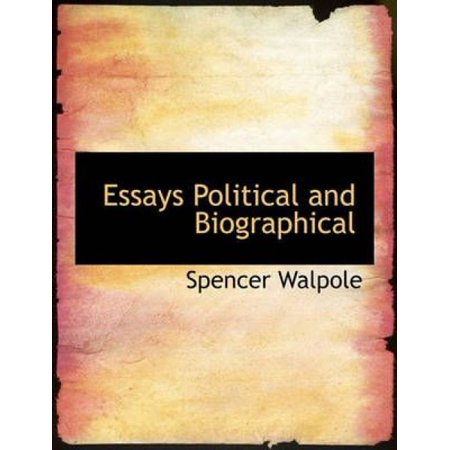 Essays Political and Biographical - image 1 of 1