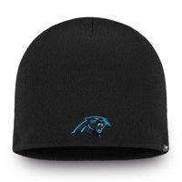 Carolina Panthers NFL Pro Line by Fanatics Branded Core II Knit Beanie - Black - OSFA
