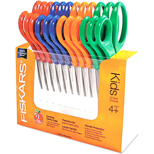 Fiskars Children's Pointed Safety Scissors