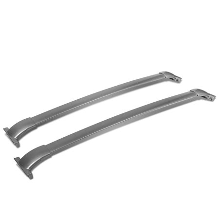 Nissan Pathfinder Heater - For 2013 to 2015 Nissan Pathfinder R52 Pair of Aluminum OE Style Roof Rack Top Crossbars (Silver Coated) 14