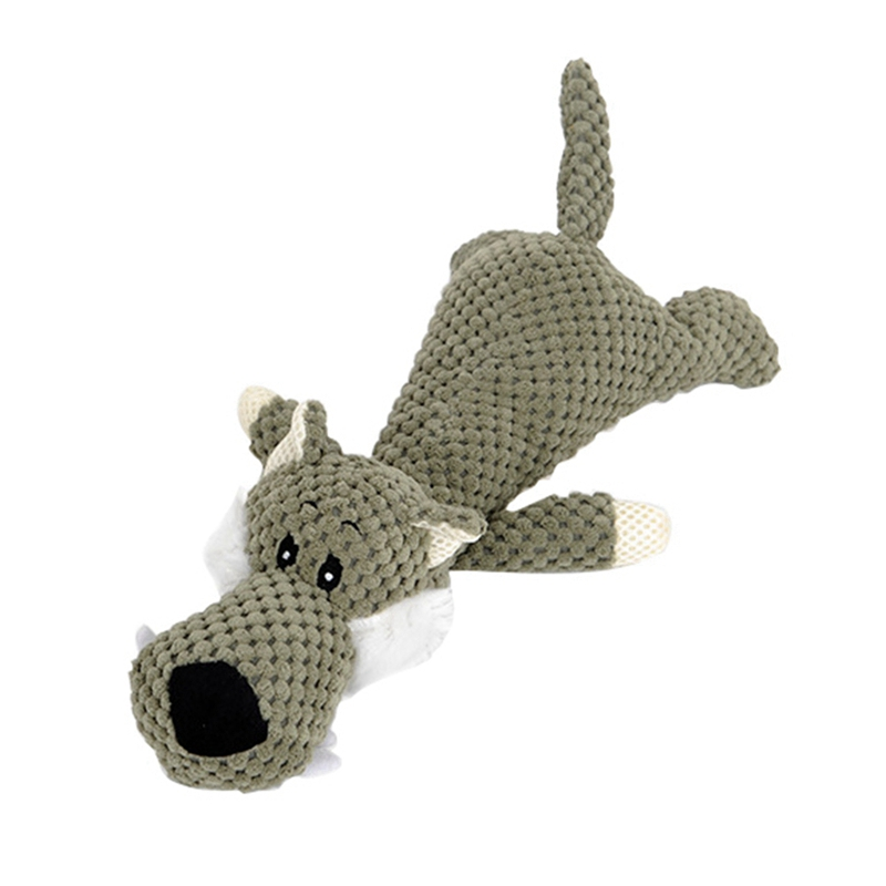 Durable and Colorful Fleece Dog Toy