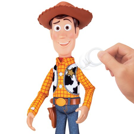 Disney Pixar Toy Story Sheriff Woody Deluxe Pull-string Action Figure