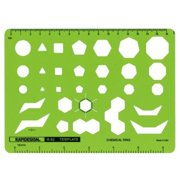 Alvin&Co 83R Rapid Design Chemical Ring Template