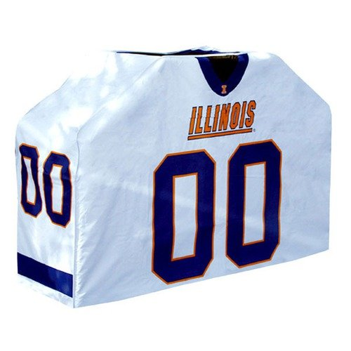 Team Sports America CLG0035-638 41  x60  x19. 5   Grill Cover - U Of Illinois