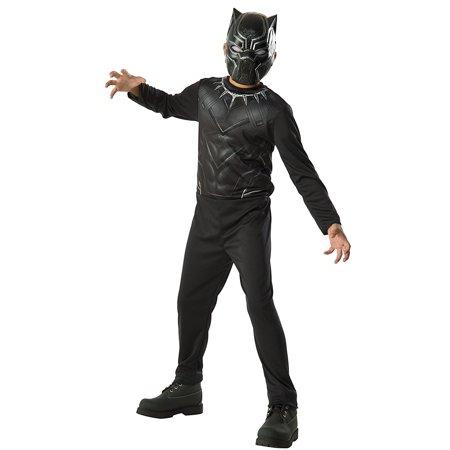 Rubie's Costume Captain America 3: Civil War Black Panther Kids Value Costume, Medium
