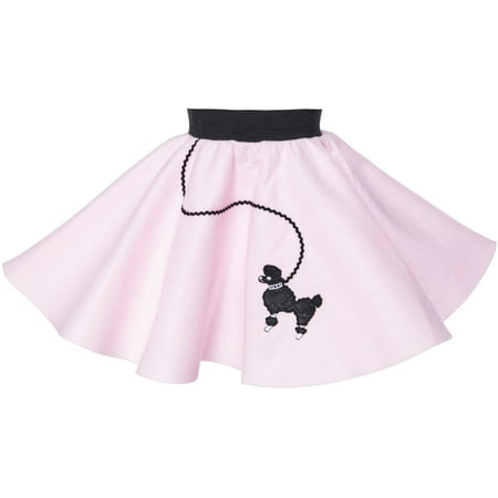 1-3 yrs Toddler - 50's Poodle Skirt - Light Pink](Diy 50s Skirt)