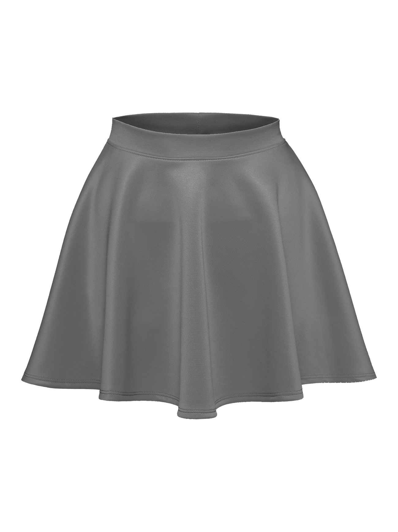 a24bf307a White Flowy Short Skirts