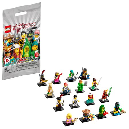 LEGO Minifigures Series 20 71027 Building Kit (1 of 16 to Collect), featuring Characters to Collect and Add to Existing Sets