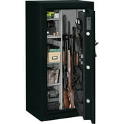 Stack-On 24 Gun Fire Resistant Security Safe with Electronic Lock and Door Storage E-24-MB-E-S Matte Black