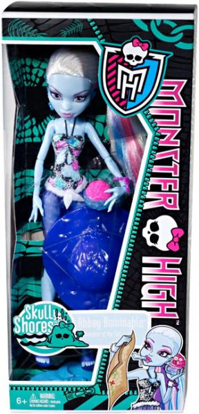 "Monster High Skull Shores Abbey Bominable 10.5"" Doll by Mattel, Inc."
