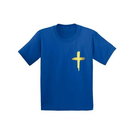 Awkward Styles Golden Cross Toddler Shirt Jesus Shirt for Kids Shirt for Boys Christian Cross Shirts for Girls Jesus T-Shirt for Children Christian Gifts Christ Clothes Cross T-Shirt for Toddlers](Navy Pinup Girl)