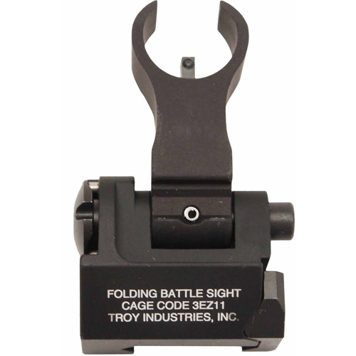 Troy Industries Front HK Style Sight, Folding Tritium, Black