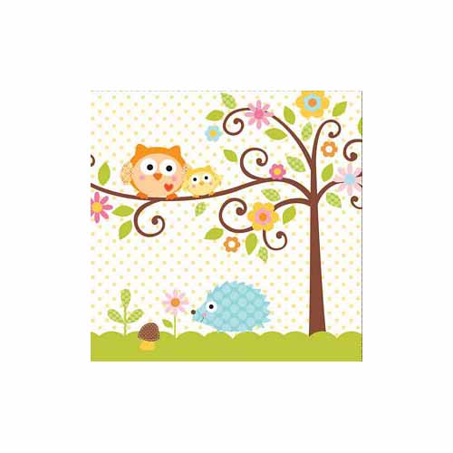 Happi Tree Luncheon Napkin by Creative Converting - 667128