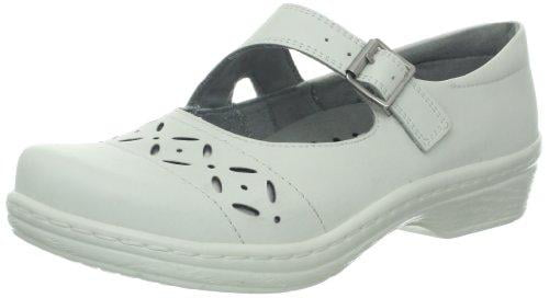 Klogs Madrid Leather Clog White Women's by Latitudes Inc.