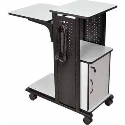 AmpliVox Mobile Presentation Station with Cabinet