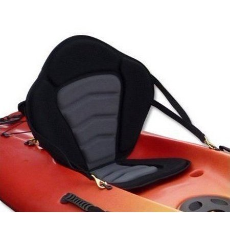 Brooklyn Kayak Company UH-PS223 Profesional Universal Sit on Top Full Kayak Seat Padded seat and Backrest (Comfort Kayak Seat)