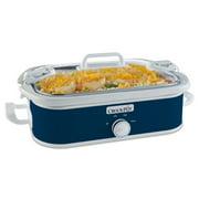 Crock-Pot 3.5 Quart Casserole Midnight Blue Slow Cooker