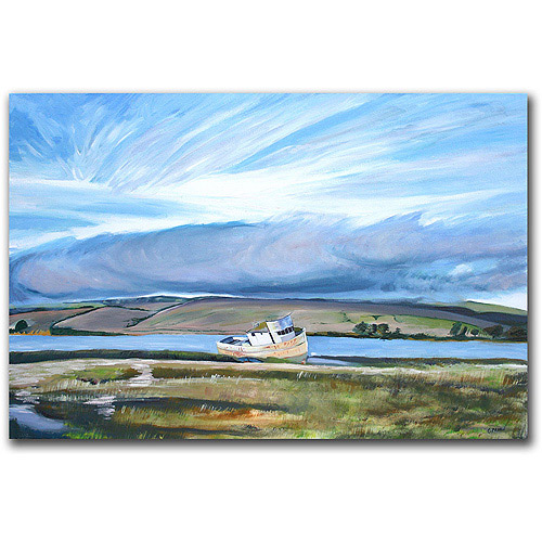 "Trademark Art ""Inverness Sky"" Canvas Art by Colleen Proppe"
