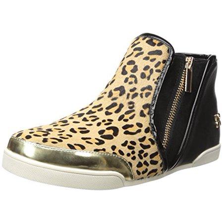 Butterfly Twists Women's Alexis Fashion Sneaker, Tan/Black, 40 EU/9-40 M US Butterfly Sneakers Shoes