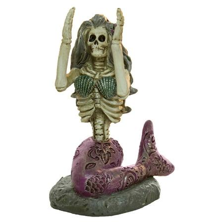 Ganz Dead Sea Mermaid Yoga Zen Skeleton Figurines In Choice Of Pose (Pose N Stay Skeleton)
