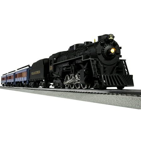 Lionel O Scale The Polar Express with Remote and Bluetooth Capability Electric Powered Model Train Set G Gauge Train