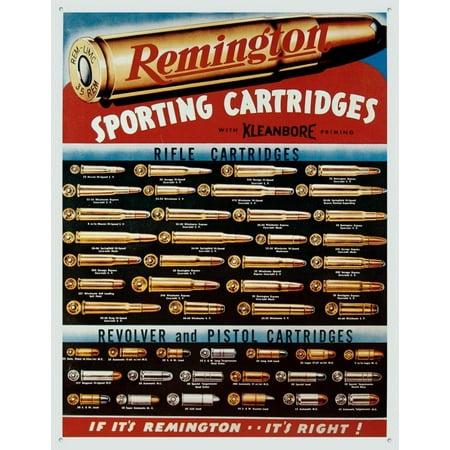 Remington Sporting Cartridges (Remington Cartridge Ballistics)