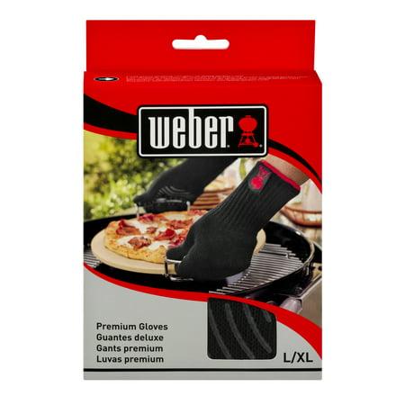 Weber Premium Gloves L/XL  6535 - 1 Pair, 1.0 PR