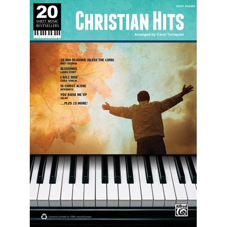 20 Sheet Music Bestsellers -- Christian Hits : Easy Piano