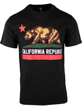 0ed075a4 Product Image ShirtBANC Califronia Republic Vintage Mens Shirt Cali Flag Tee