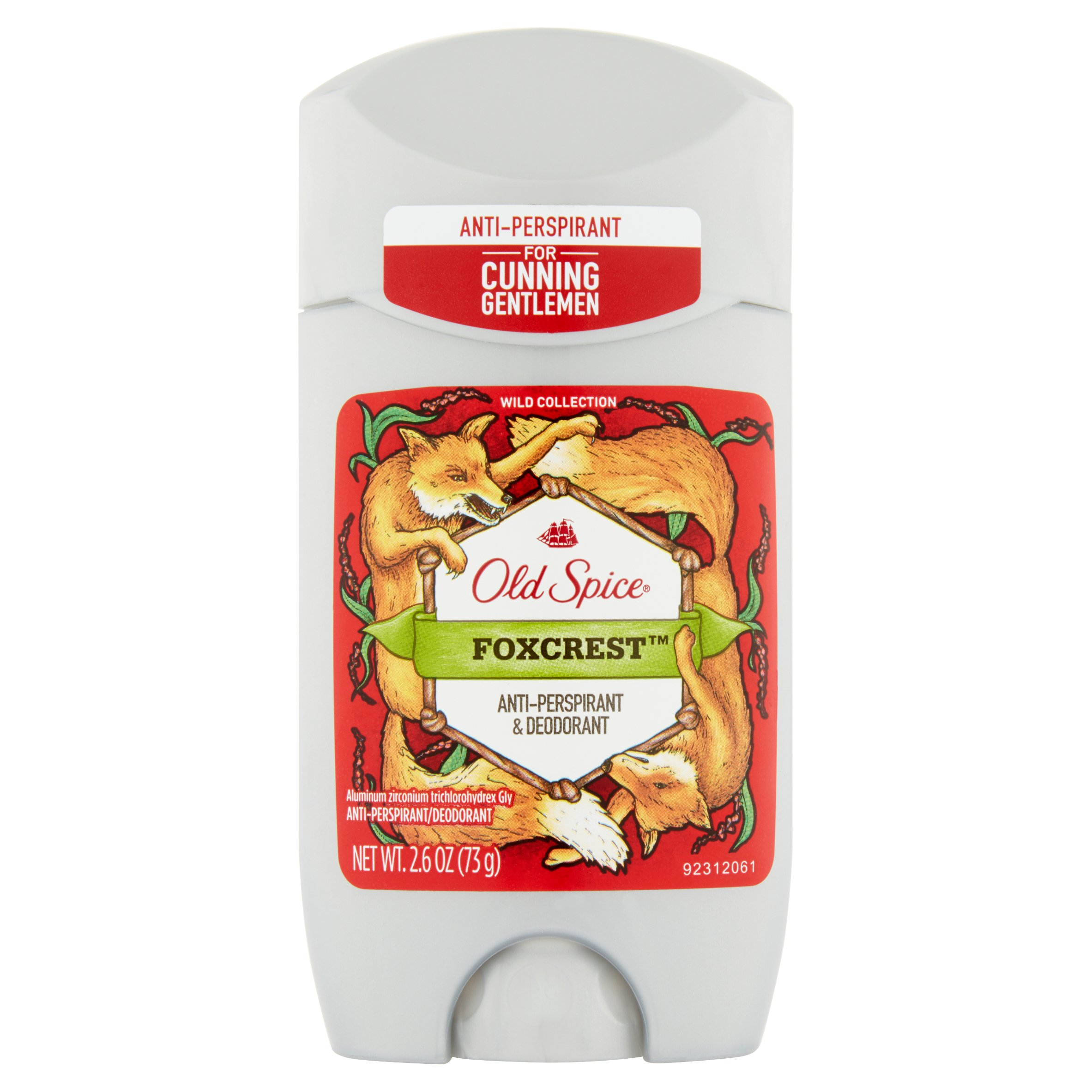 Old Spice Wild Collection Foxcrest Anti-Perspirant & Deodorant, 2.6 oz