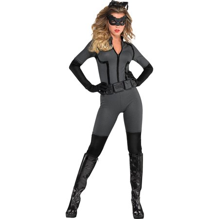 Catwoman Suit Costume (Suit Yourself Batman: The Dark Knight Rises Catwoman Costume for Adults, Size Extra-Large, Includes an Eye Mask and)