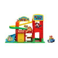 Jada Toys Ryan's World Super City Track Set