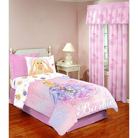 barbie mattel barbie twin sheet set. Black Bedroom Furniture Sets. Home Design Ideas