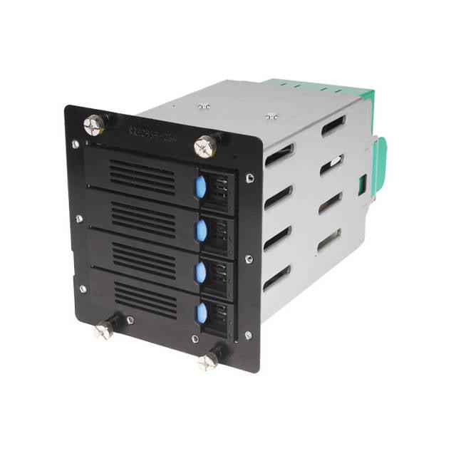 """Chenbro 84H220910-078 4x 3.5"""" HDD Cage For SR105/SR209, w/ 6Gb/s Mini-SAS BP& 80mm Fan"""