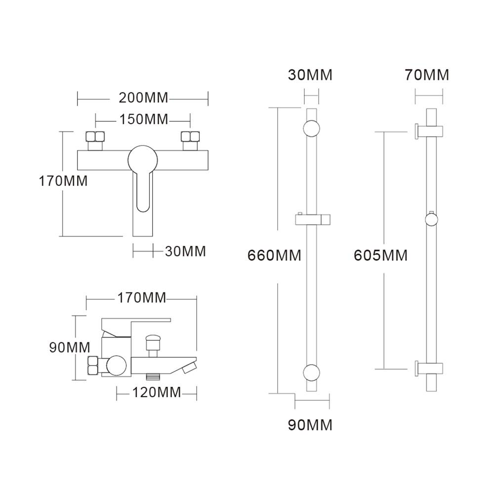Stainless Metal Shower Sliding Bar With Shower Head Bath Tap Shower on bad boy parts diagram, bad boy controller diagram, bad boy accessories, lawn boy wiring diagram, bad boy horn diagram,