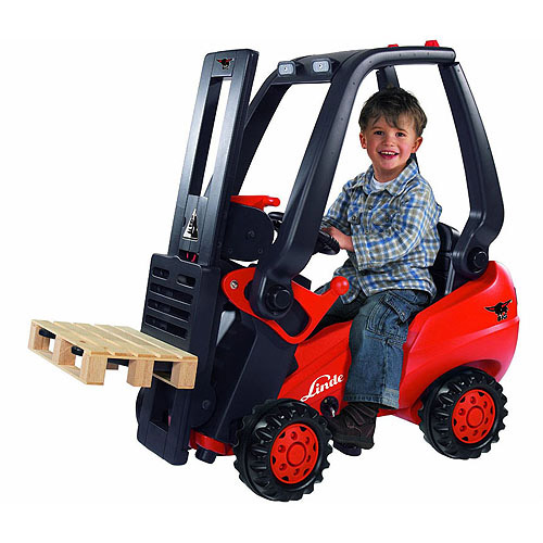 Big Linde Pedal Forklift by Big