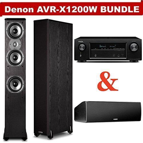Denon AVR-X1200W 7.2 Channel Full 4K Ultra HD A/V Receive...