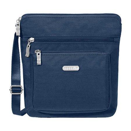 "Women's baggallini POC879 Pocket RFID Crossbody  1.5"" x 7.5"" x 10.5"""