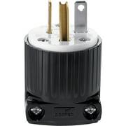 Cooper 5366 Spec Grade Straight Blade Plug 20A 125V