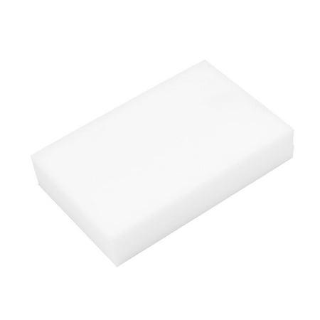 White Rectangle Shaped Nano Multi Use Washing Cleaning Sponge For Car Body