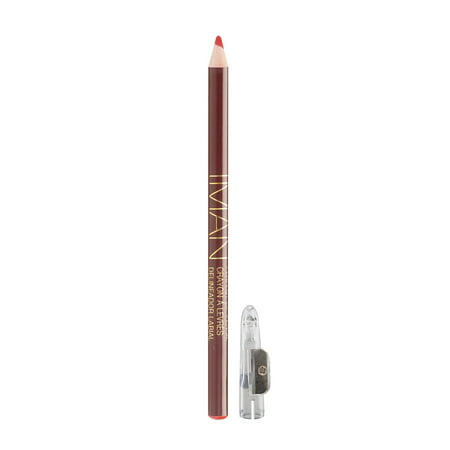 - IMAN Cosmetics Perfect Lip Pencil, Pink, Passion, 0.05 Oz