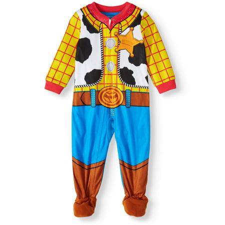 Toy Story Toddler Boy Snug Fit Cotton Sleeper Pajamas ()