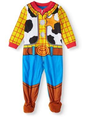 Toy Story Microfleece Blanket Sleeper (Toddler Boys, 2T, 3T, 4T, 5T)