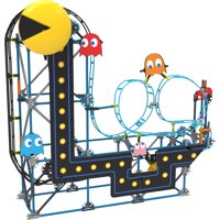 K'NEX PAC-MAN Roller Coaster Building Set - 432 Parts - Roller Coaster Building Toy