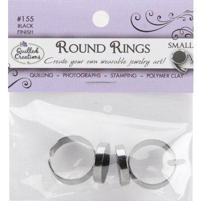 """Jewelry Rings 2/Pkg-Small .625"""" (16mm)"""