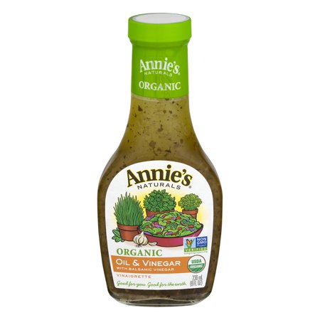 Balsamic Oil And Vinegar Dressing (Annie's Organic Oil & Vinegar Dressing, 8 fl oz Bottle )